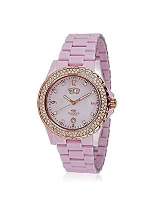 Oniss Women's ON6200-LRG/PK Bello Princess Collection Pink Ceramic Watch