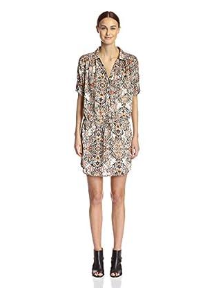 Kaya di Koko Women's Printed Shirt Dress