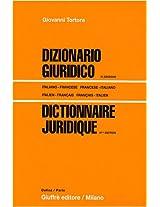 Dictionnaire Juridique Francais-Italien / Italien-Francais