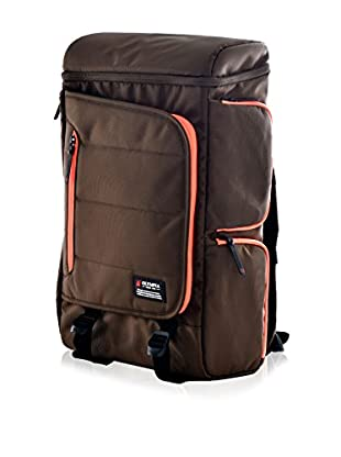Olympia Einstein 20-Inch Backpack, Chocolate Brown