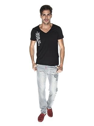 Giorgio Di Mare Camiseta Marcello (Negro)