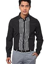Black Slim Fit Formal Shirt