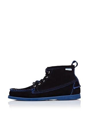 Sebago Zapato Botines Ante (Azul)