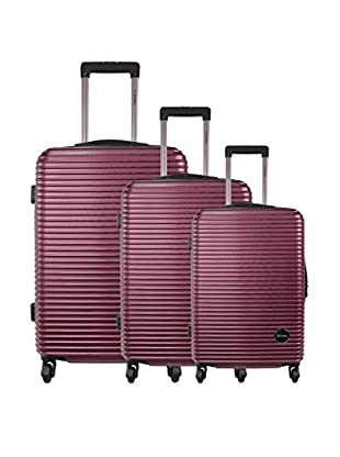zifel Set de 3 trolleys rígidos A19