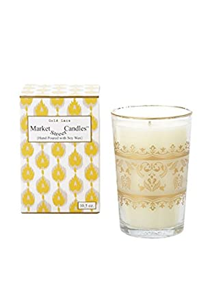 Market Street Candles 10.5-Oz. Gold Lace Moroccan Candle