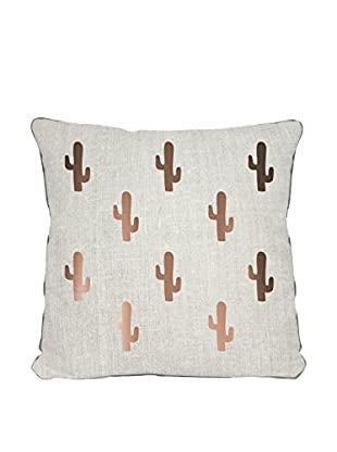 Surdic Cojín Copper Cactus Multicolor 45 x 45 cm
