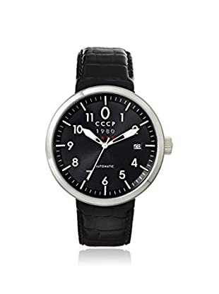 CCCP Men's 7008-01 Kashalot Analog Display Automatic Self Wind Black Watch