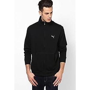 Puma Men's Sweat Jacket - Black