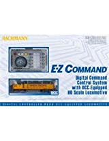 Bachmann E-Z Command DCC Controller Plus DCC Equipped HO Loco, GP40 Diesel Loco, BNSF HO Scale DCC On-Board