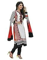 RGN Retails womens cotton unstitched dress material for salwar suit kameez RGN-1310