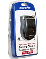 DigiPower QC-500S Sony Camera Battery Charger (Black)