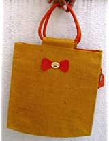 Cute Jute Medium Sized Lunch Bag