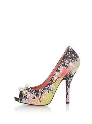 Fornarina Zapatos Satin (Negro / Multicolor)