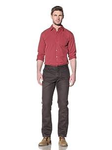 Just A Cheap Shirt Men's Larry Chino Pants (Dark Brown)