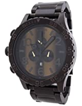 NIXON Men's NXA0831073 Chronograph Dial Watch