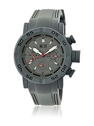 Mos Reloj con movimiento cuarzo japonés Mosmb103 Gris 48  mm