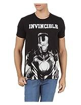 Iron Man Men's Cotton T-Shirt