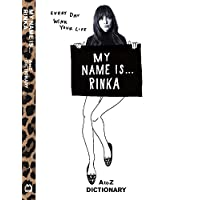 梨花 MY NAME IS... RINKA AtoZ DICTIONAR 小さい表紙画像