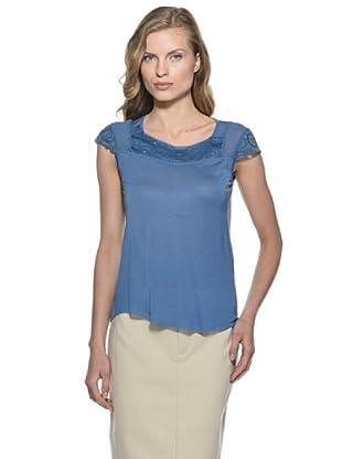 Stefanel T-Shirt (Blau)