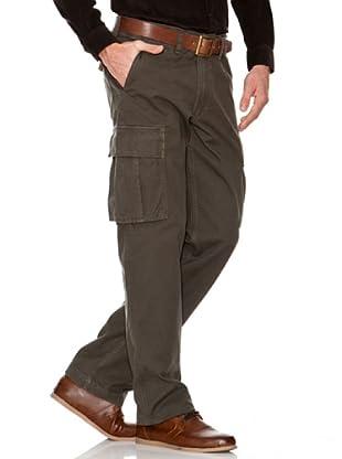 Dockers Pantalón Comfort Suspender Cargo (Verde)
