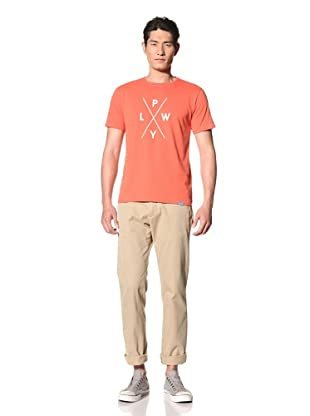 Two Thirds Men's Icon Pwyl Tee (Rusty Orange)