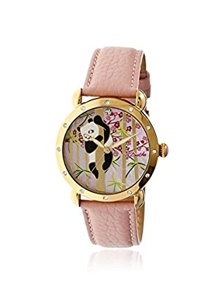 Bertha Women's BR4505 Lilly Light Pink/Multicolor Leather Watch