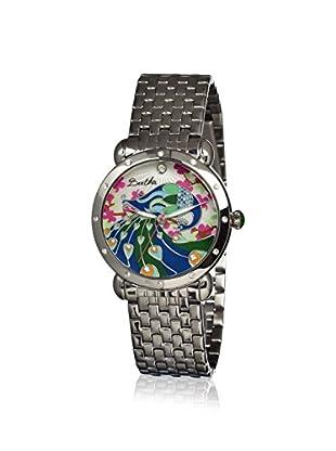 Bertha Women's BR2801 Didi Silver/Multi Stainless Steel Watch