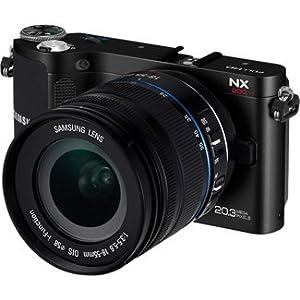Samsung NX200 Digital Camera w/18-55mm Lens, Black