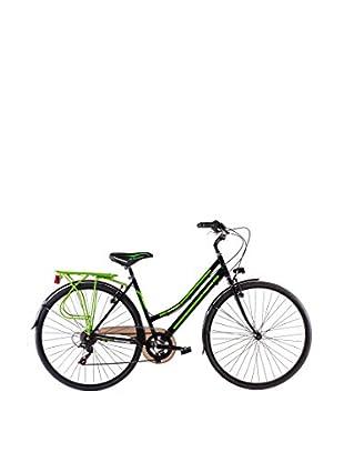 Schiano Cicli Bicicleta 28 Trekking 3.0 06V. Negro / Verde
