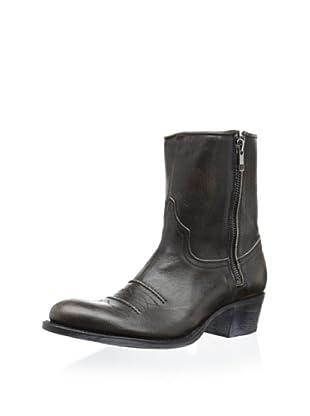 Sendra Women's Debora Western Zip Bootie (Black)