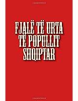 Fjalë Të Urta Të Popullit Shqiptar