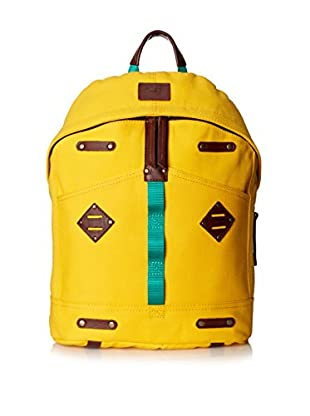 WILL Leather Goods Women's Ducks Backpack, Yellow