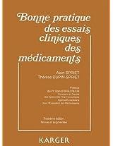 Bonne Pratique Des Essais Cliniques Des Medicaments