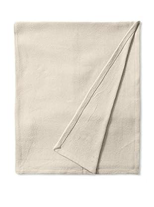 Nautica Twill Cotton Blanket (Khaki)