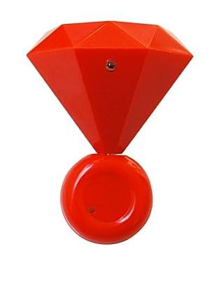 MollaSpace Diamond Ring Speaker, Red