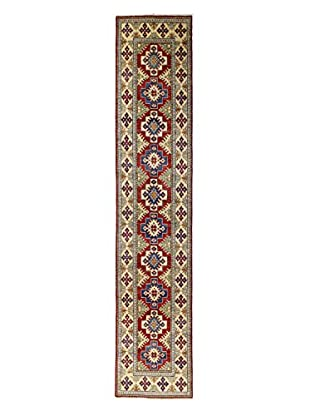 Bashian Rugs One-of-a-Kind Hand Knotted Paki Kazak Rug, Red, 2' 7