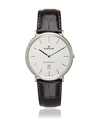 Edox Men's 27028 3P AIN2 Les Genevez Ultra Slim Watch