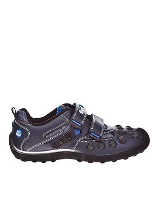 Footgol Sneakers Doppelklett (blau/royal/schwarz)