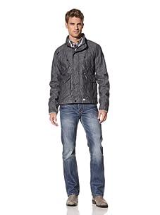 MOD Men's Hooded Light Jacket (Denim Blue)