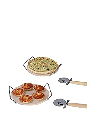 Kitchen Artist Set Piedra Para Pizza 2 Uds.