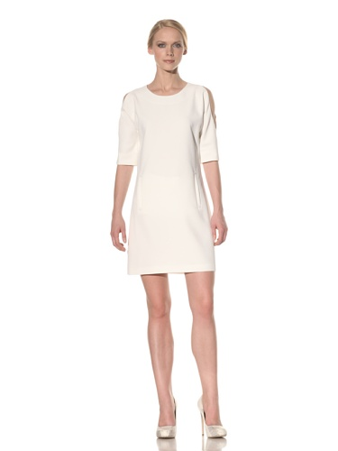 Rachel Roy Women's Cut Out Dress (Natural White)