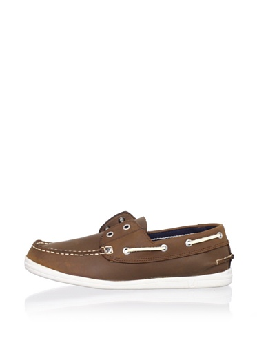 Nautica Portsmouth Boat Shoe (Little Kid/Big Kid) (Tan)