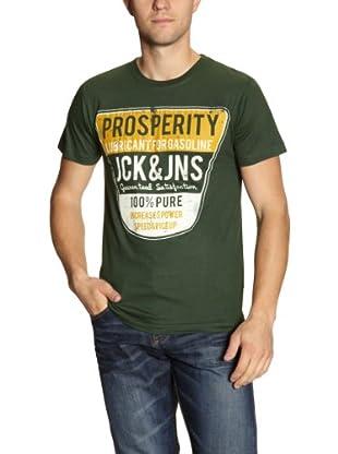 JACK & JONES T-Shirt Gasoline (Verde)