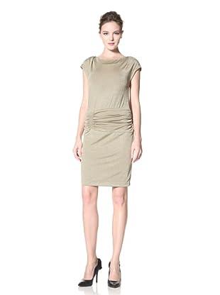 Donna Morgan Women's Kennedy Metallic Sleeveless Dress (Gold)