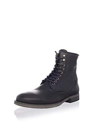 ksubi Men's Newman Lace-Up Boot (Black Cusna)