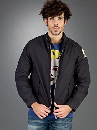 Andy Warhol by Pepe Jeans Chaqueta Colorpack (Negro)