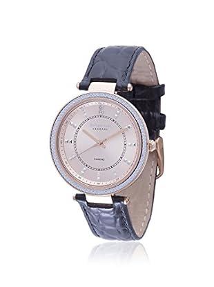 Johan Eric Women's JE1000B-09-007 Ballrup Black/Gold Leather Watch