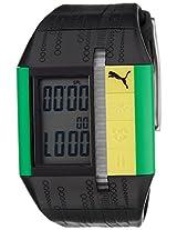 Puma Digital Black Dial Unisex Watch - PU910501010
