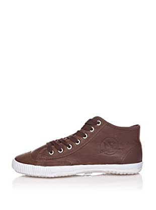 Shulong Zapatillas Shuleather High (Marrón)