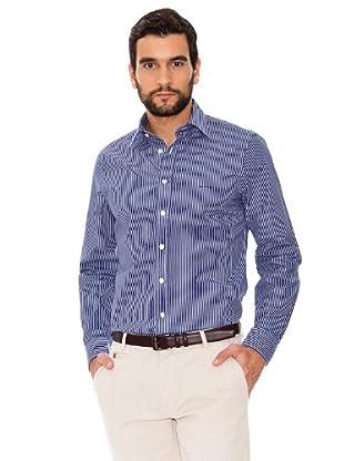 Arrow Camisa Clarck (azul oscuro)
